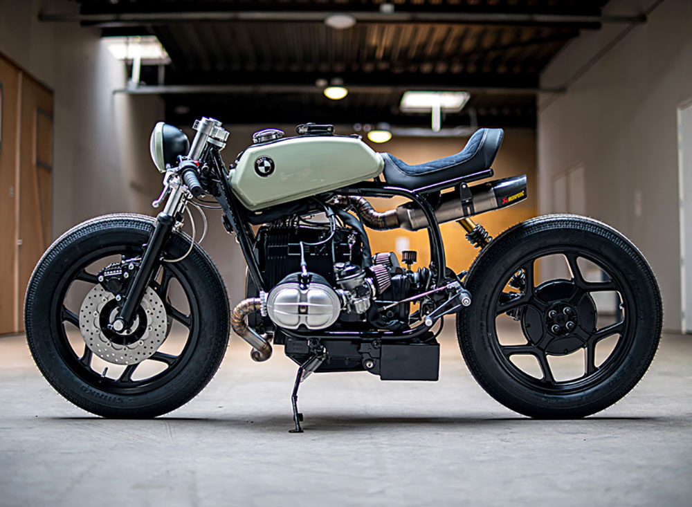 BMW R80 preparation café racer