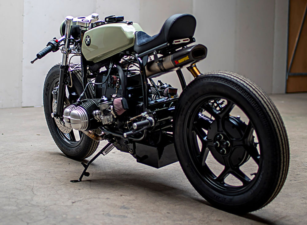 Bmw R800 Par Ironwood Motorcycles Le Caf 233 Racer Abordable
