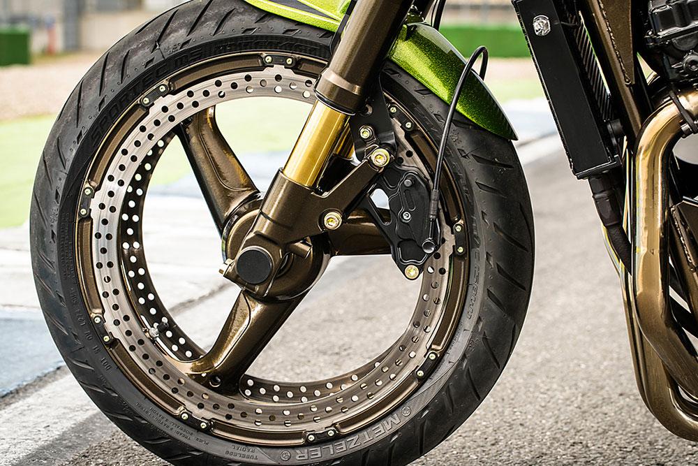 freinage périmétrique perimetric brake moto