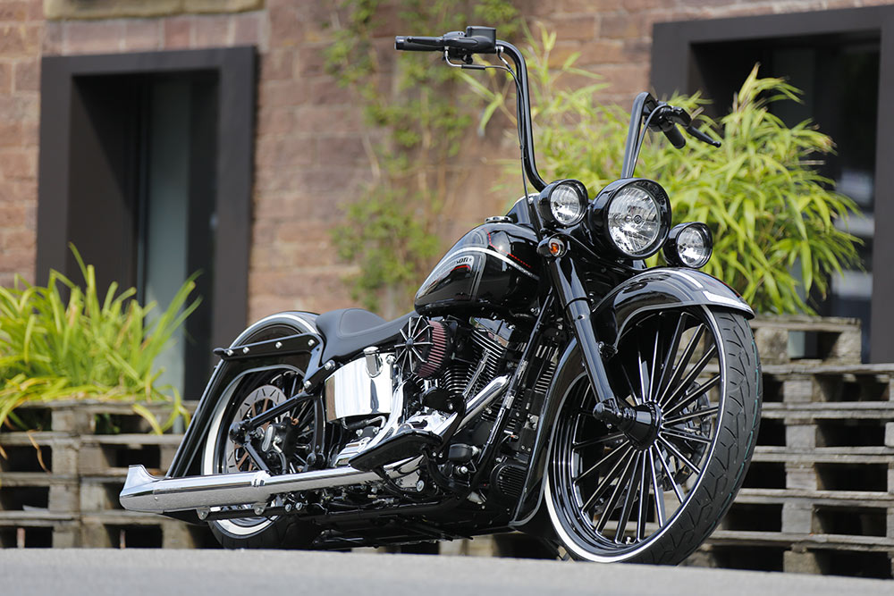 Softail H-D chicano style custom
