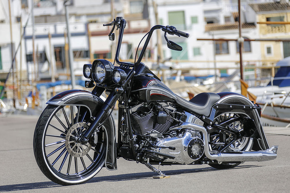 softail twin cam 103 1700 cc