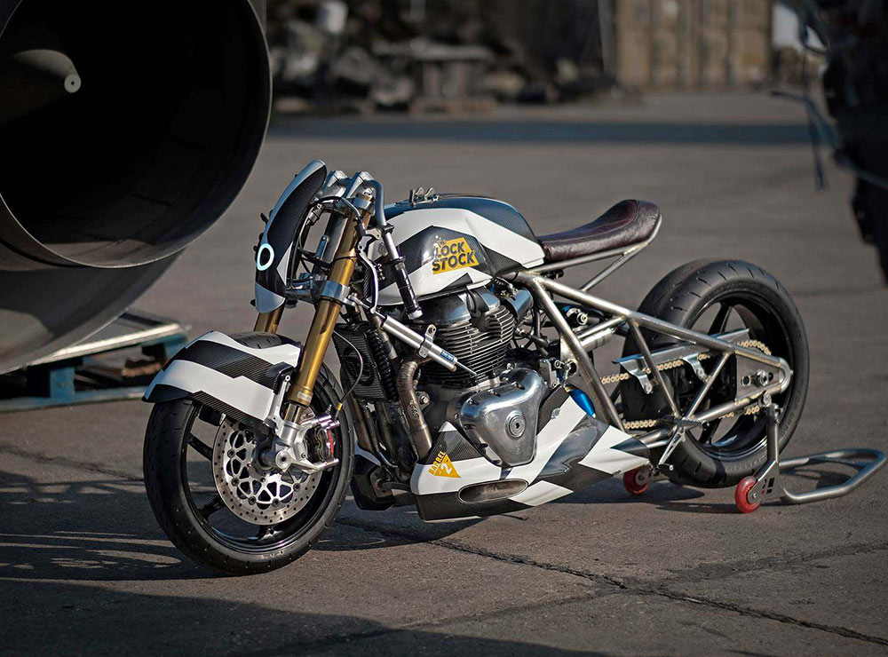 royal enfield 650 racer custom