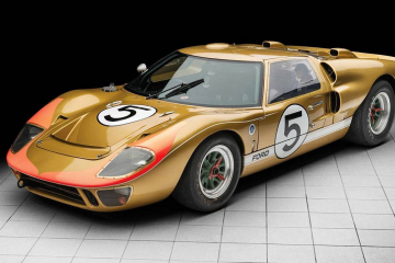 Ford GT 40 Le Mnas 1966 3rd