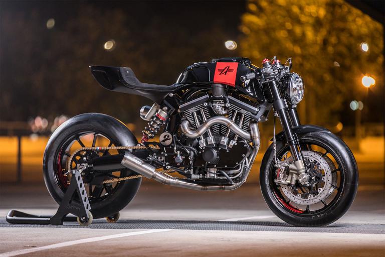 Avinton custom : moto française