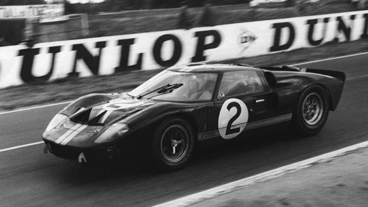 Ford GT40 Bruce Mclaren Le Mans 1966