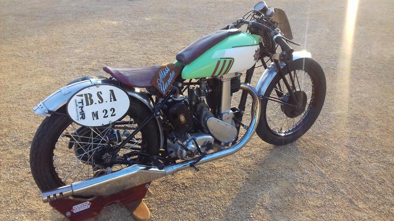 BSA moto anglaise