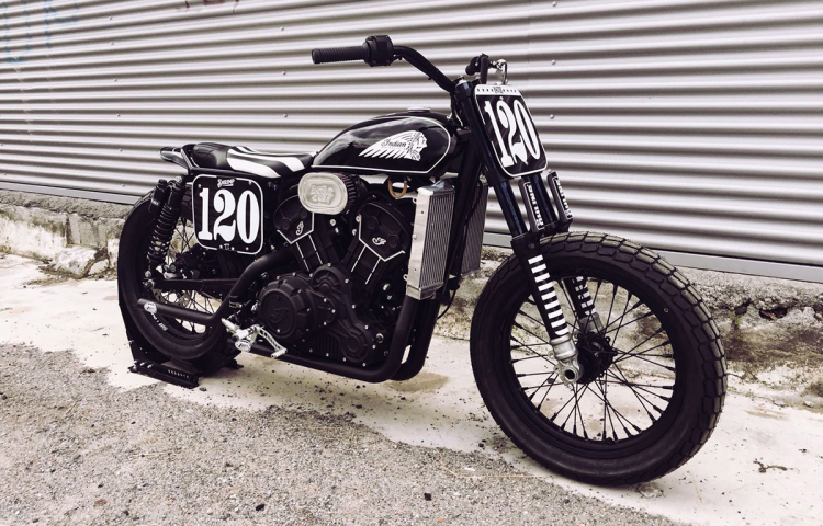 Indian scout sixty dirt track