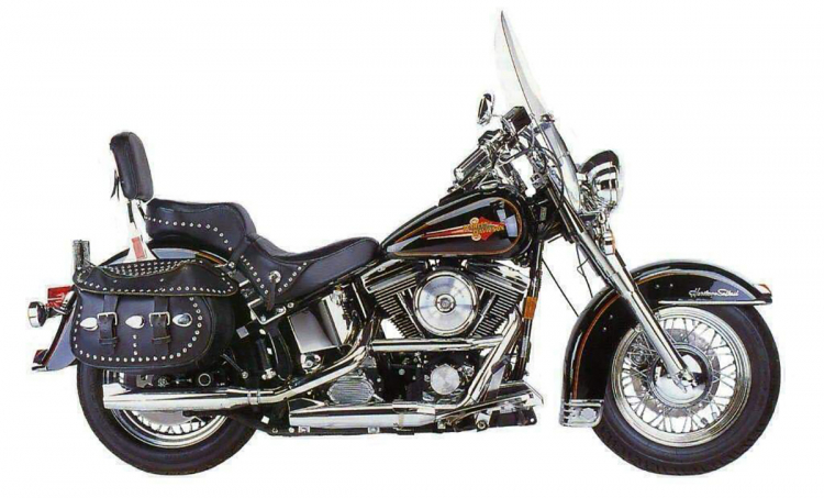 Harley-davidson heritage softail classic 1340 evolution