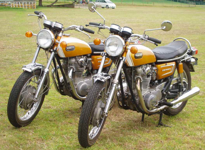 yamaha xs 650 1971