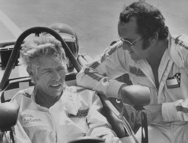 james coburn racing car