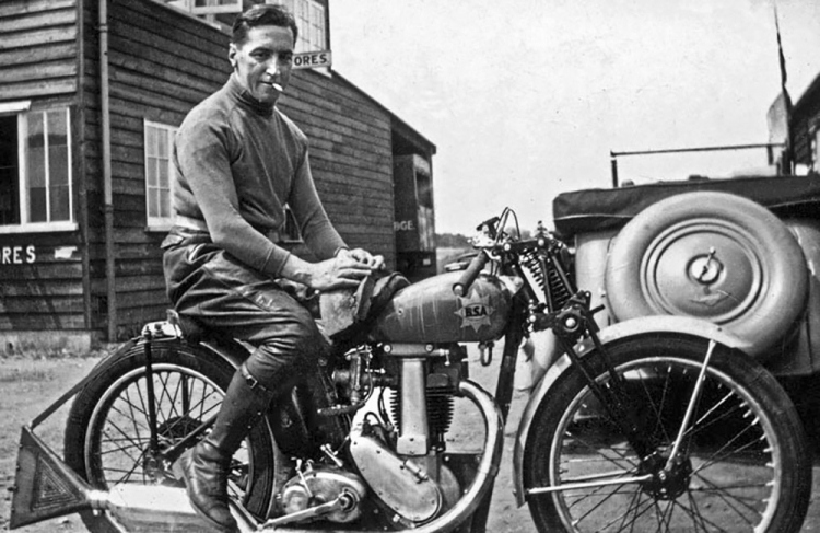 wal Handley BSA 1937