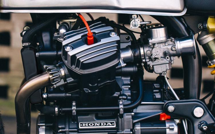 Honda cx 500 cafe racer