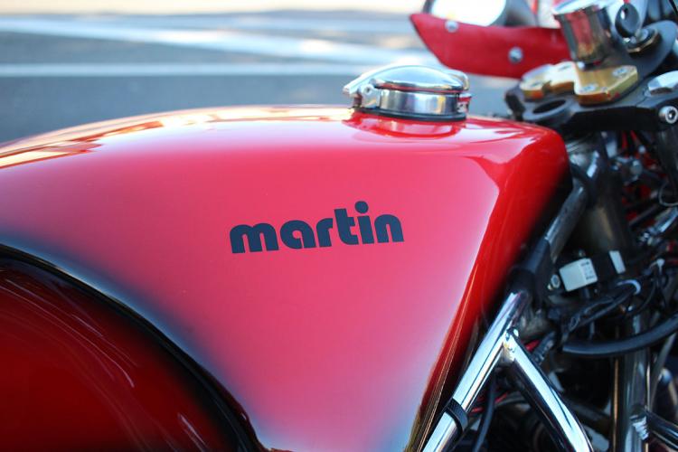 moto martin France