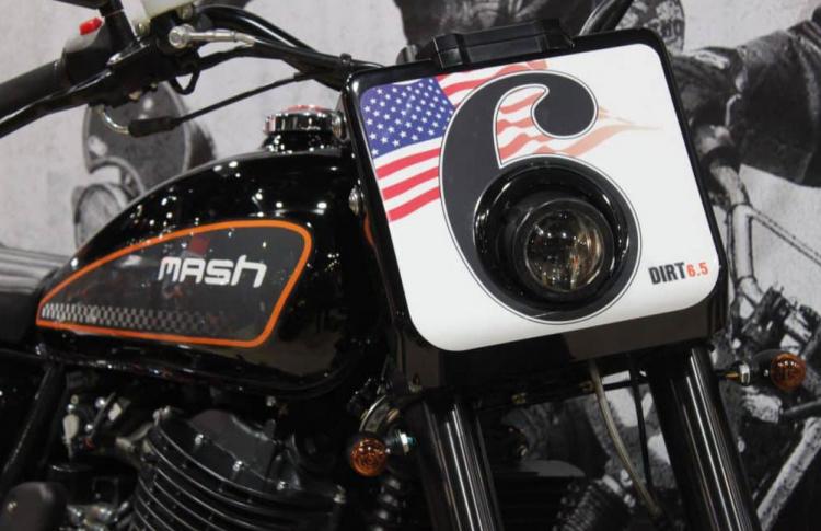 moto française Mash