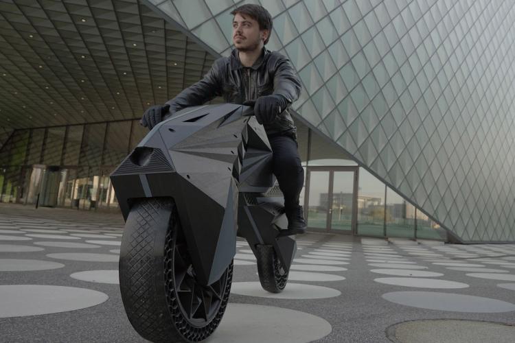 Nera :prototype moto électrique 3d