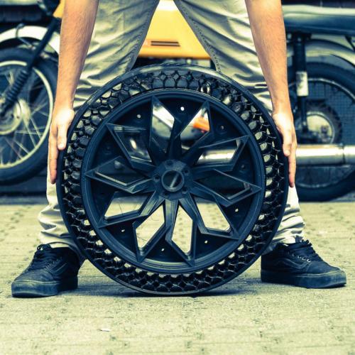 pneu 3d sans air Bigrep