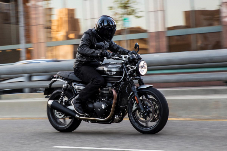 triumph speed twin noire black