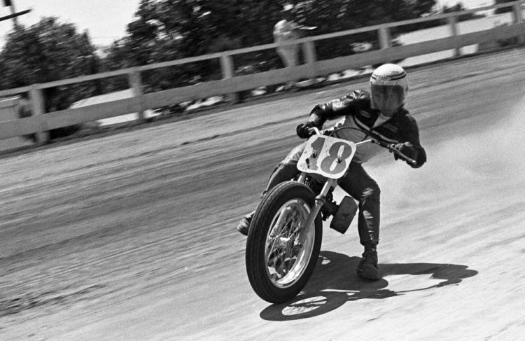 mert lawwill Harley-Davidson KR 45 ci