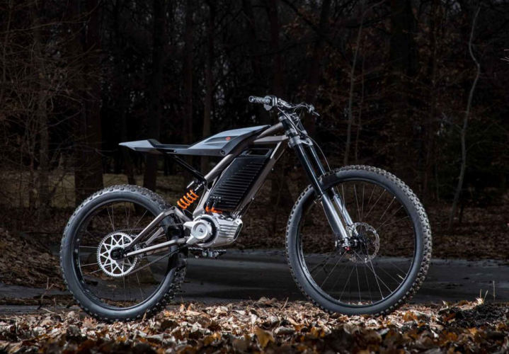 harley-davidson electrique mountain bike