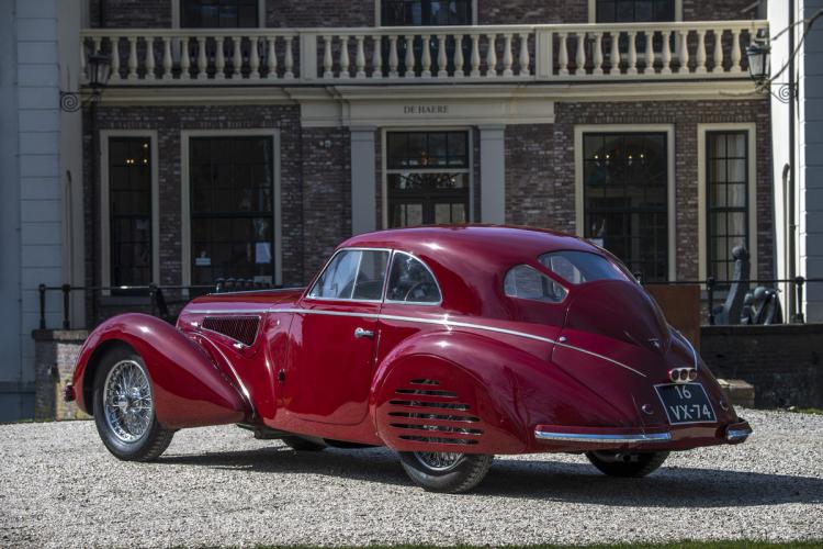 alfa romeo 8c : voiture de collection