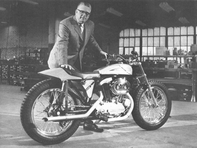 dick o'brian sportster xr 750 1970