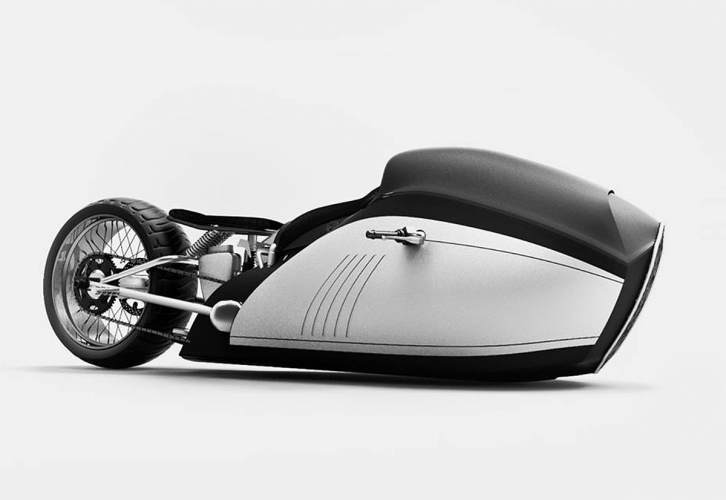 BMW k750 Turbo alpha land speed record