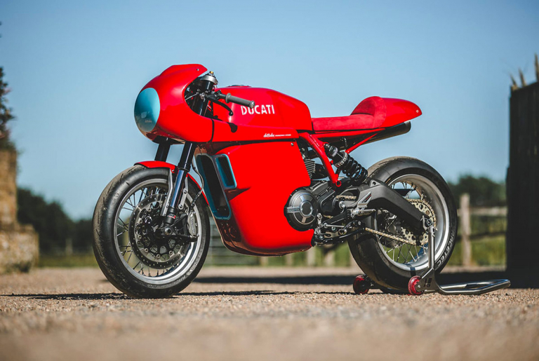 ducati scrambler 800 custom cafe racer