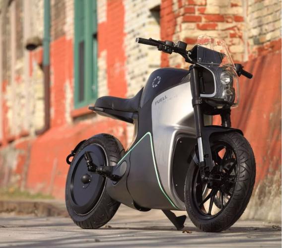 moto électrique fuell
