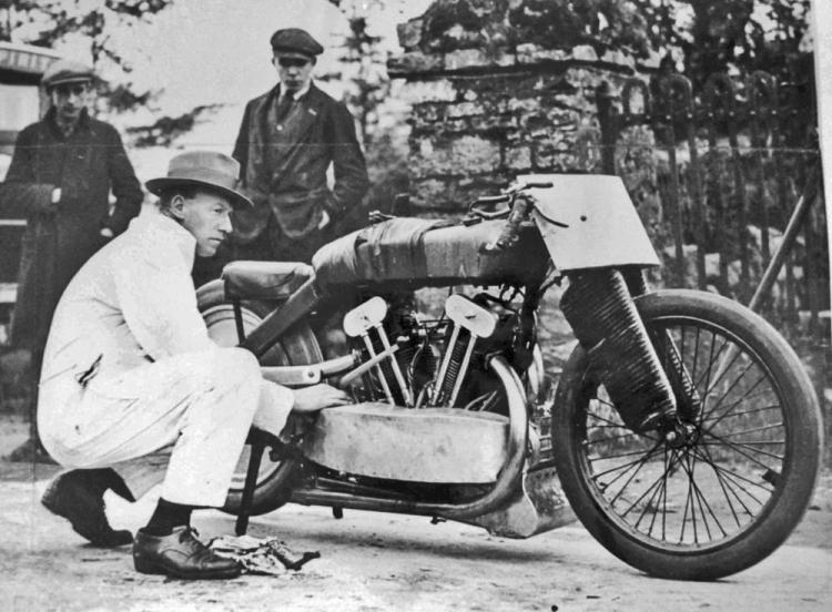 Joe wright Zenith jap moto de record