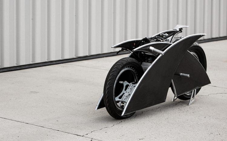 prototype moto électrique X Racer