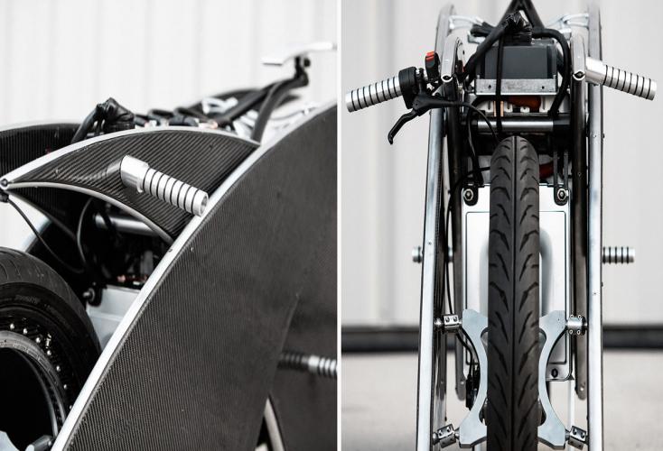 moto électrique roue sans moyeu