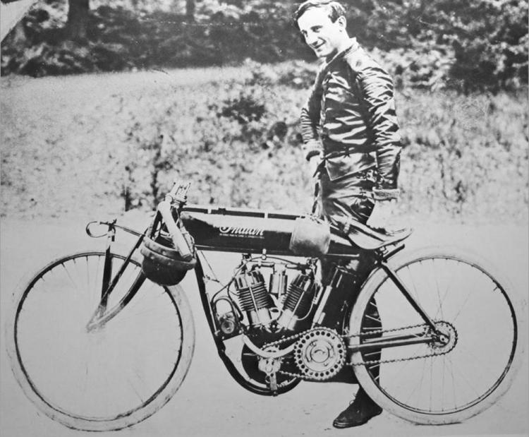jack de rosier indian moto