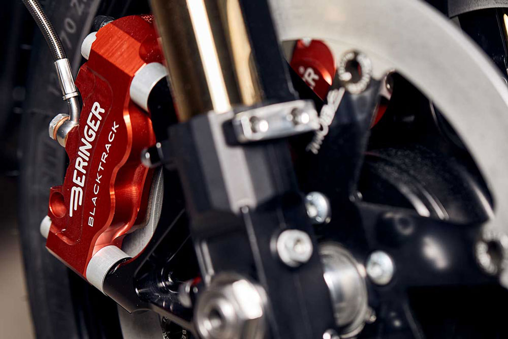 étrier et frein monobloc radial Beringer