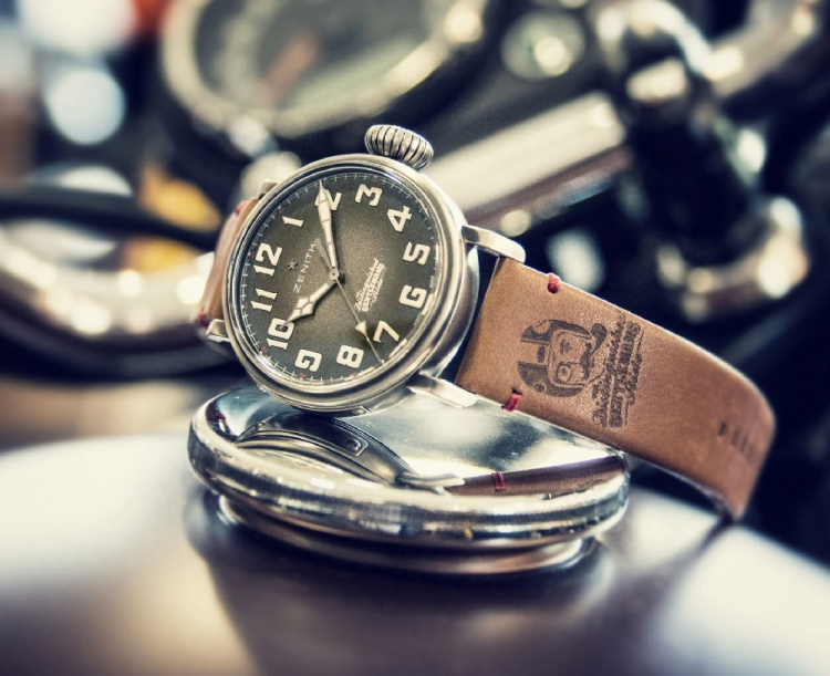 montre zenith cafe racer ton-up