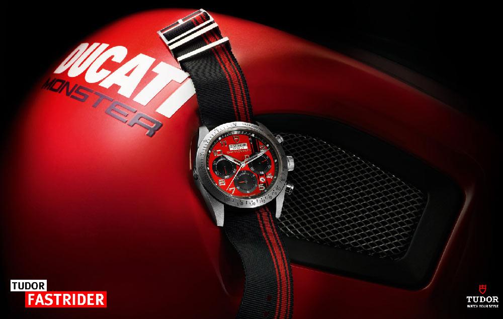 Montre Tudor Fastrider pour Ducati