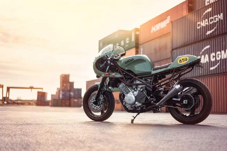 Yamaha TRX 850 café racer