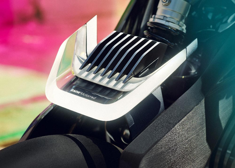 BMW électrique LEDs