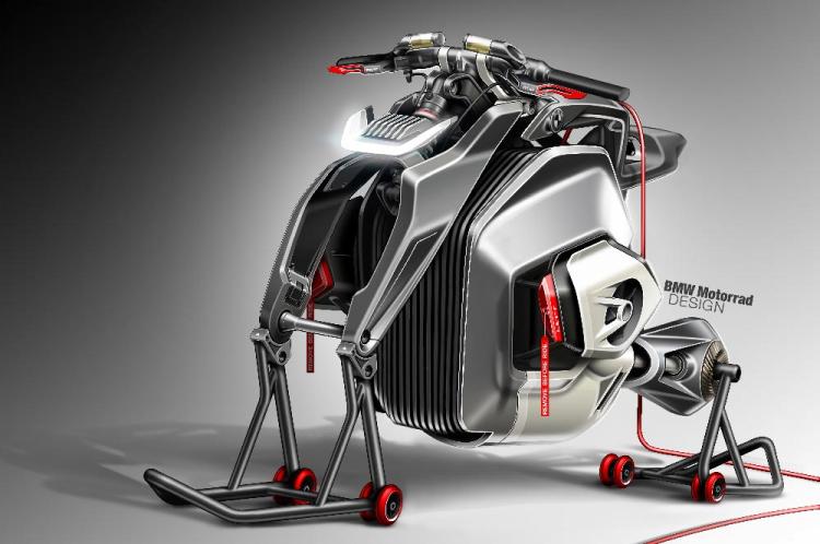 Concept moto électrique BMW