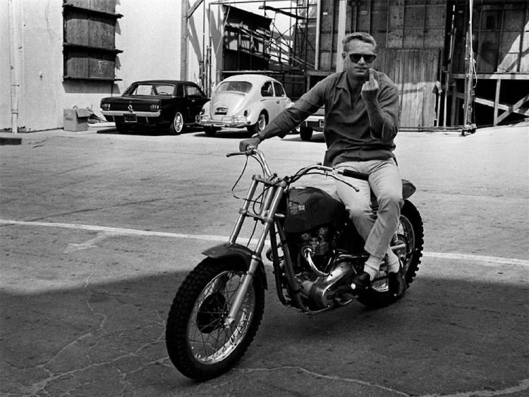 Rickman Métisse Steve McQueen