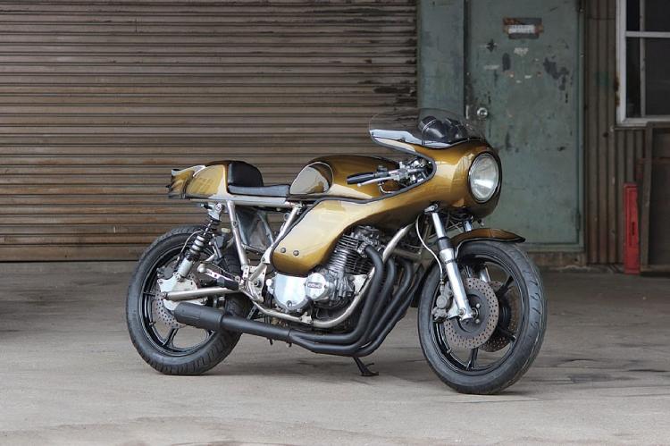 Kawasaki Z1000 Rickman Métisse