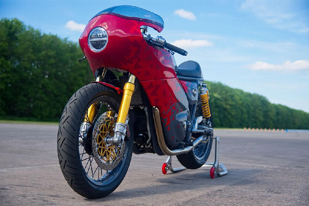 Royal Enfield 650 Continental GT classic racer