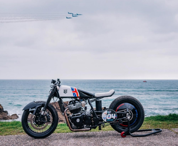Royal Enfield Continental GT 650 Drag racer