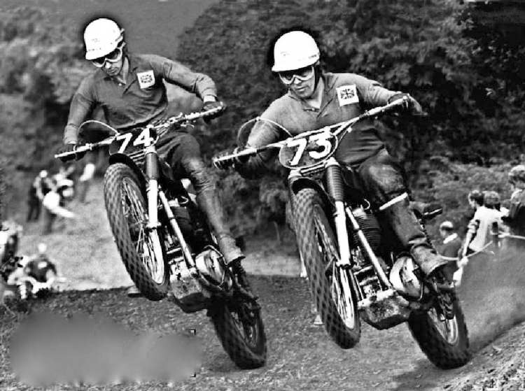Don & Derek Rickman motocross