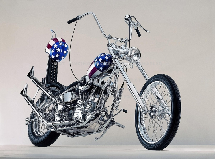 chopper easy rider captain america