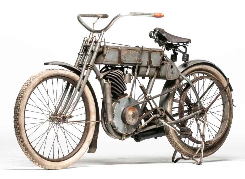 1907 Harley-Davidson « Strap Tank »