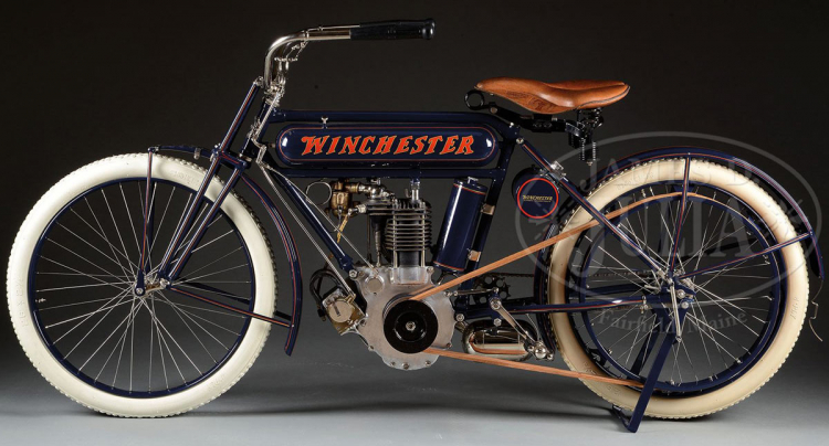 1910 Winchester 6 HP : moto la plus chère au monde