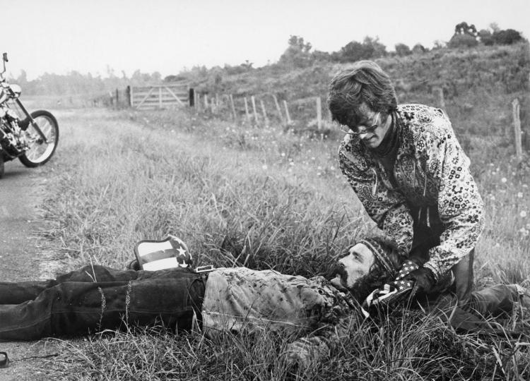 dennis Hopper Peter Fonda Easy Rider