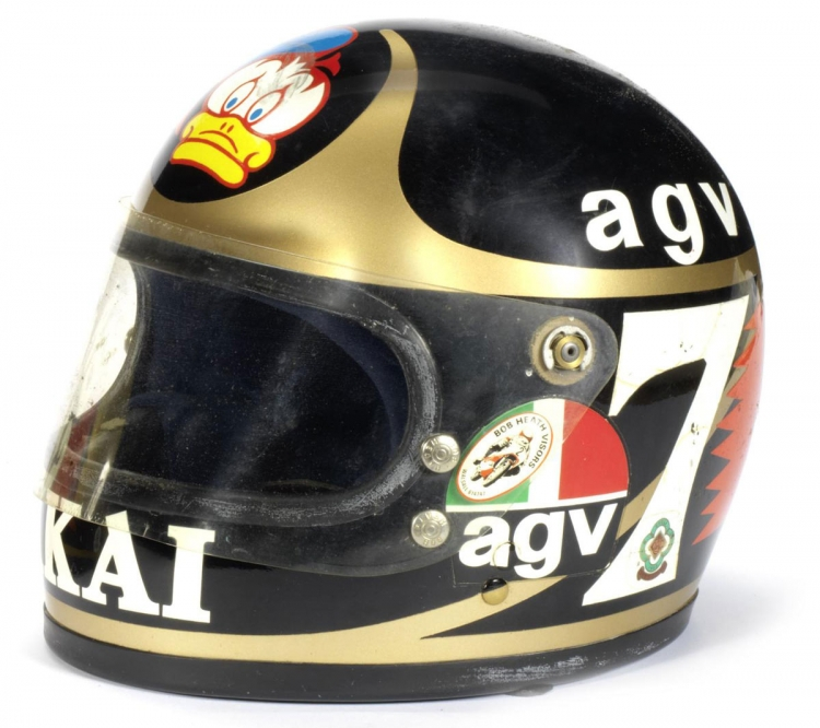 Barry sheene casque AGV