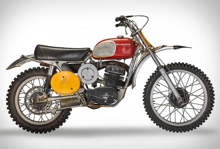 Husqvarna 400  Steve McQueen : la moto de off road la plus chère au monde