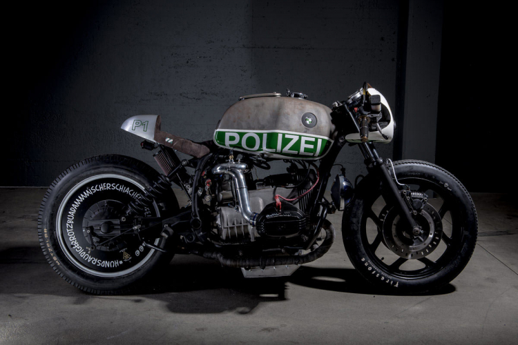 BMW RT 80 cafe racer monolever